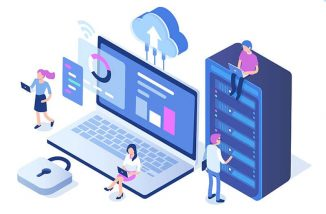 IT Solutions illustration